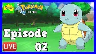 Pokémon Blue Version - 🔴LIVE EPISODE 02- Trainer Battles