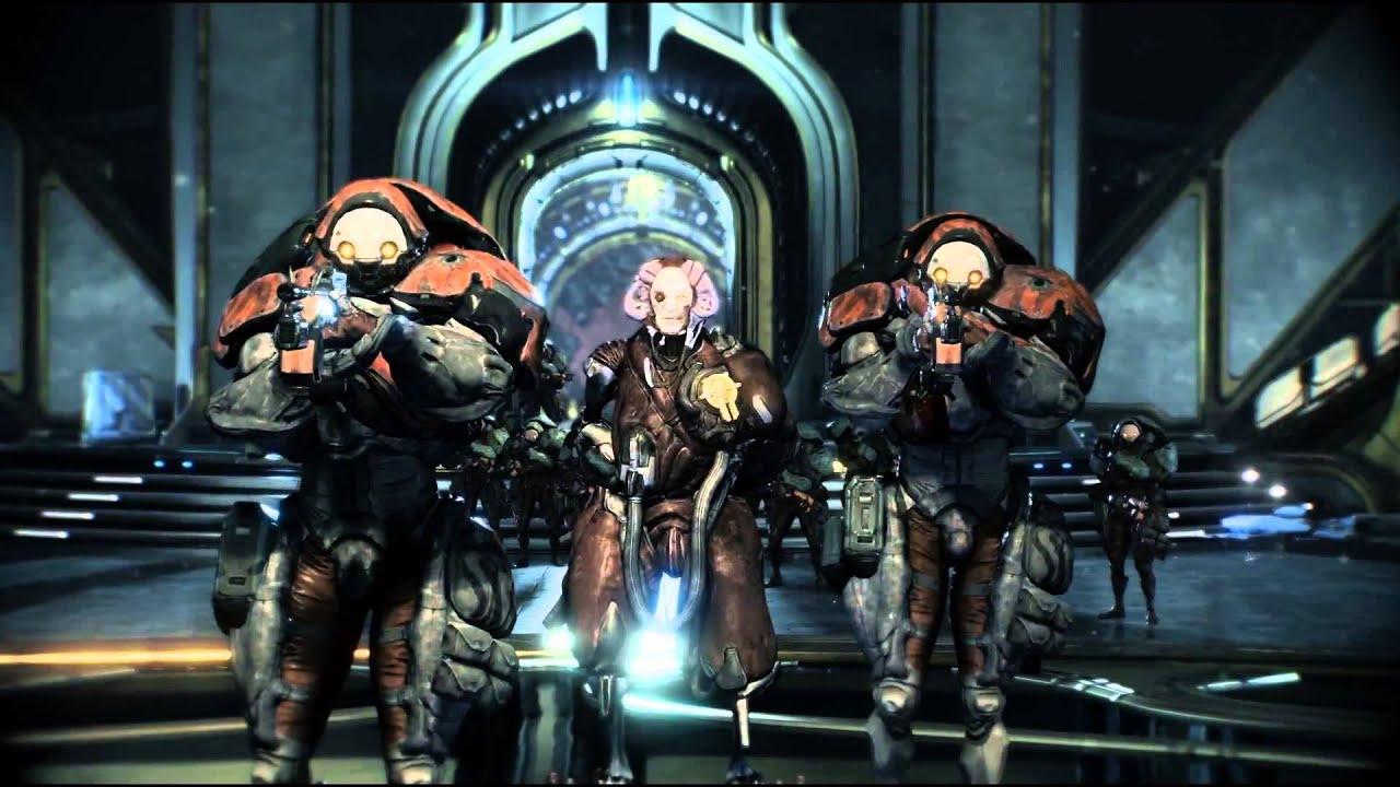 Warframe PS4 Trailer YouTube