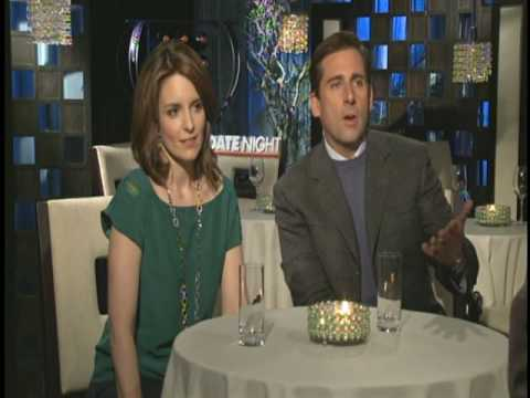 Steve Carell and Tina Fey Interview for DATE NIGHT
