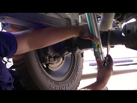 Bilstein 5100 Shock install and review on a 2006 Duramax