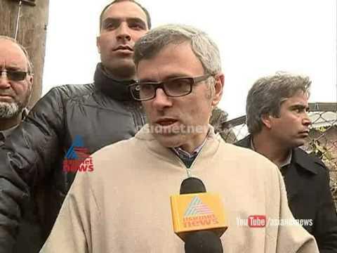 Kashmir CM Omar Abdullah ctiticizing PM Narendra Modi