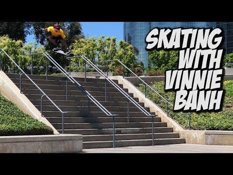 SKATING WITH VINNIE BANH !!! - NKA VIDS -