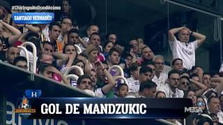 Así vibró el Bernabéu con la final de Cardiff