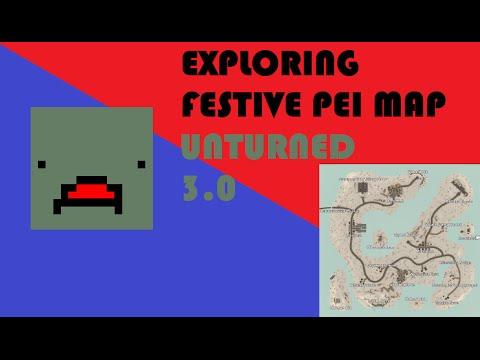 [Malaysia] Unturned 3.0 | Festive PEI |  EXPLORING FESTIVE PEI MAP | Gameplay 34!