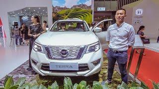 VMS 2018 - Khám phá chi tiết Nissan Terra - SUV 7 chỗ rộng rãi, đối thủ Fortuner