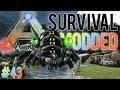 DE SPINNEN GODIN OPROEPEN! (LIVE) - ARK: Survival Modded #43 MP3
