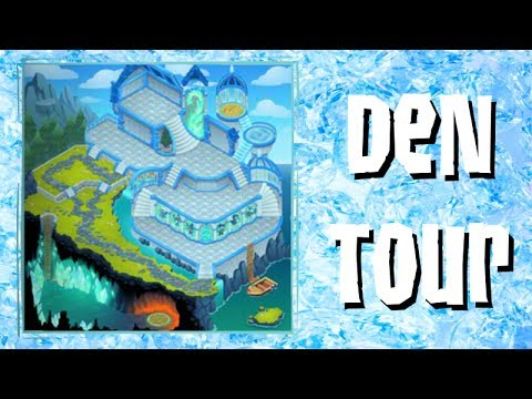 Animal Jam Tour of the Crystal Palace Den (ft. Proven)