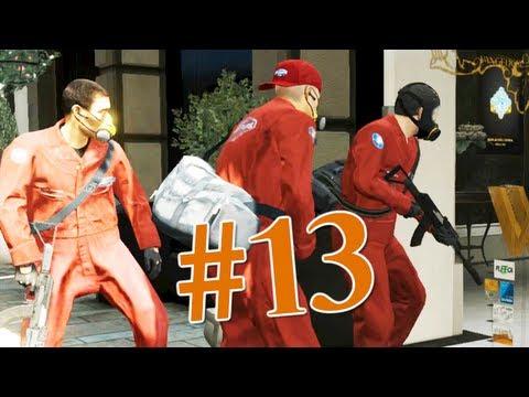 Grand Theft Auto V | Ep.13 | Ограбление Ювелирного