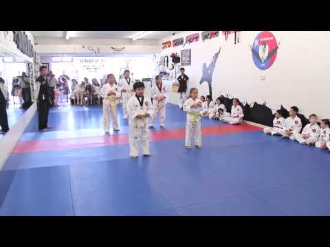 May 18, 2013  JK Tae Kwon Do - Yellow Belt Test