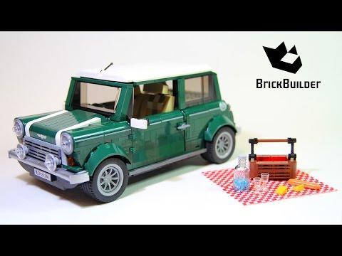 lego 10242 mini cooper lego speed build youtube. Black Bedroom Furniture Sets. Home Design Ideas