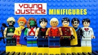 LEGO DC Nation Young Justice KnockOff Minifigures + 10,000 Subscribers Giveaway