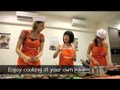 have fun learning hands-on cooking in Singapore !