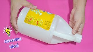Creative Way To Recycle Plastic Jug| How To Recycle Plastic Jug| Best Reuse Idea