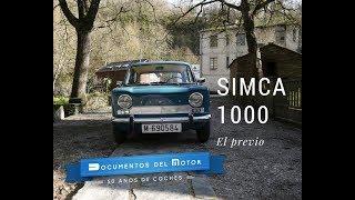 Simca 1000- El previo
