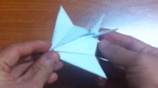 How To Make Stealth Fighter Origami