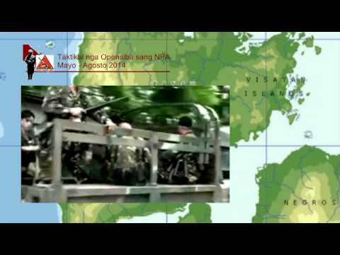 NPA Tactical Offensives in Panay May-August 2014