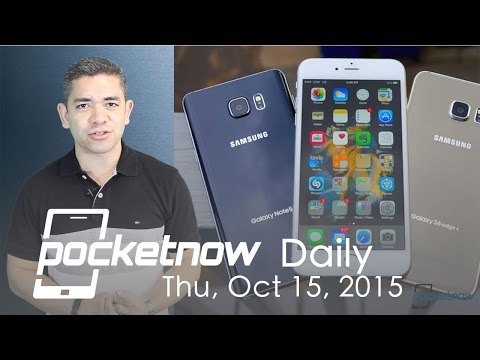 iPhone market dominance, Rose Gold Galaxy Note 5 & more - Pocketnow Daily