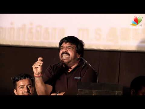 T.rajendar Funny Speech At Kalkandu Tamil Movie Audio Launch | K. Bhagyaraj, P.vasu video