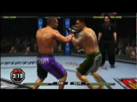 Gameplay de UFC...Thiago Silva