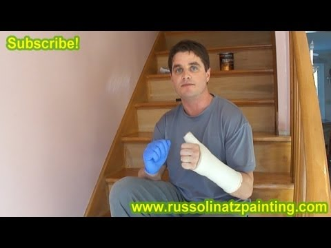 DIY Refinish & Paint Hardwood Stairs that were Carpeted. Stained. & Varnished (part 1) Risers