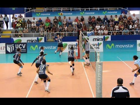 Vallejo sufrió para vencer a Regatas en la Liga de Vóley (VIDEO)