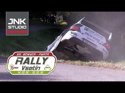 13. Bonver-Partr Rally Vsetín 2016 (crash & action)