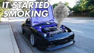 FIRST TIME DRIVING MY RB20 SWAPPED S13!