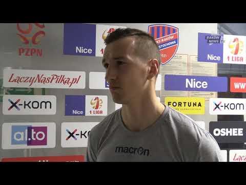 Andrzej Niewulis o sparingu z MFK Karvina. // Raków News TV