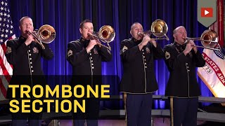 The Star Spangled Banner Trombone Section Of The U S Army Field Band