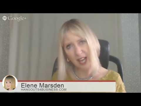 Google Hangout Show with Elene Marsden