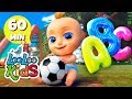 Lagu 🅰Phonics Song -💛 Alphabet songs for Children  LooLoo Kids