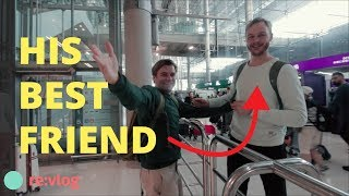 HE TRAVELED AROUND THE WORLD TO SURPRISE HIS BEST FRIEND (emotional travel vlog)