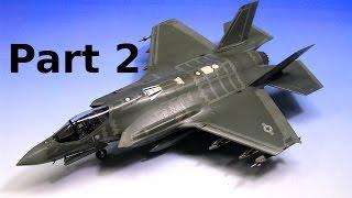 F-35A Lightning II Academy 1:72 Jet Fighter Mode - Part 2