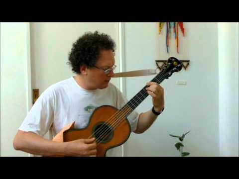 Estudio op.60 N°17 de Matteo Carcassi por Gabriel Schebor