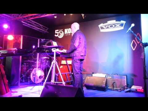 Jordan Rudess Performing Live at Musikmesse 2013