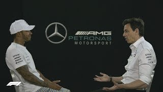 Lewis & Toto Open Up On Their Mercedes Story