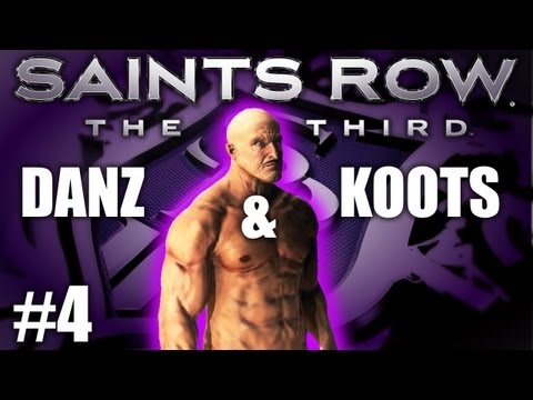 Saints Row The Third Pt4 FLOWING OCTANE w/ Danz & Kootra