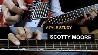 Rockabilly guitar lesson - Scotty Moore style