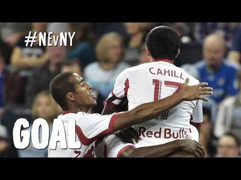 GOAL: Tim Cahill pokes in the opening goal | New England vs. New York