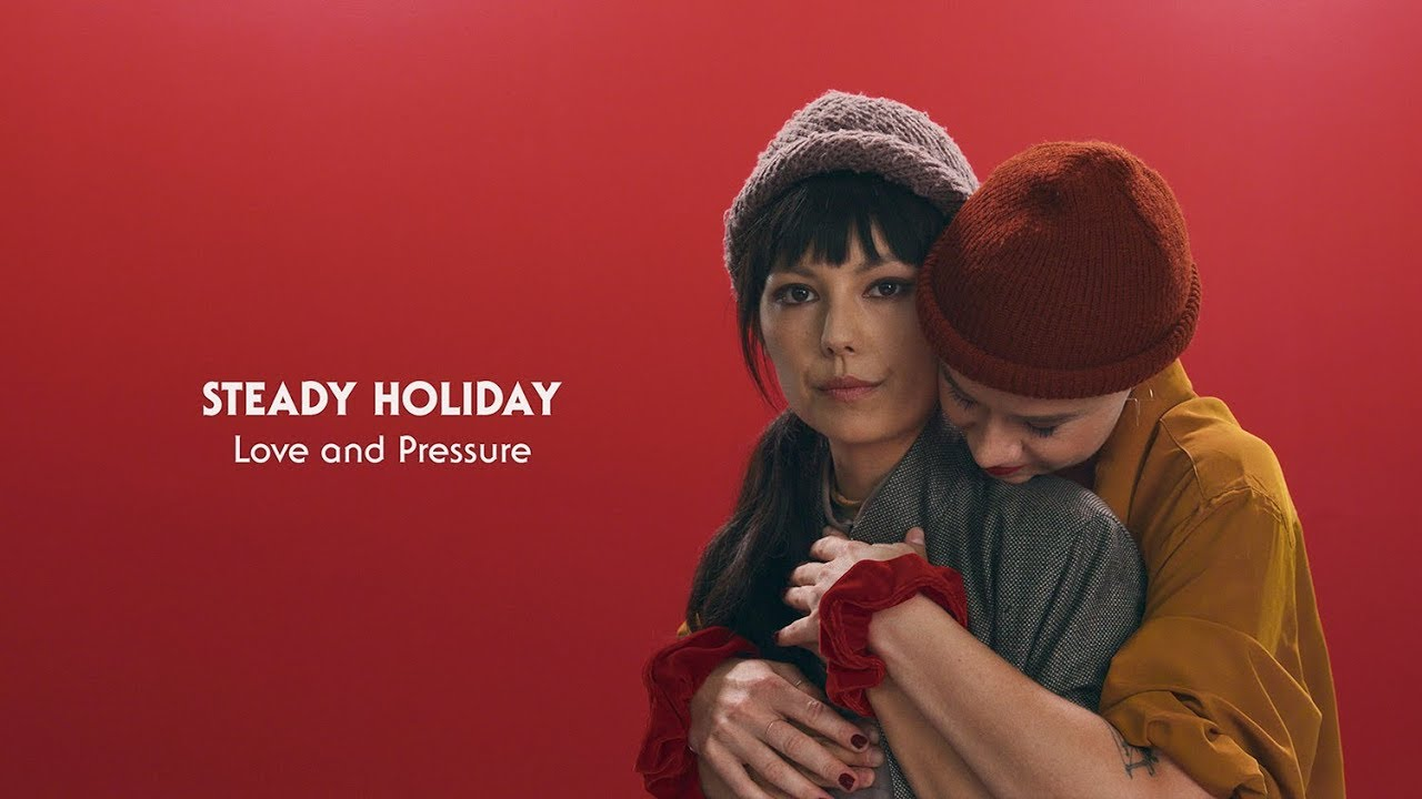 "Steady Holiday - ""Love and Pressure""のMVを公開 新譜「Nobody's Watching」2018年8月24日発売収録曲 thm Music info Clip"