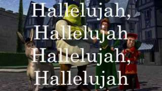 Watch Shrek Hallelujah video