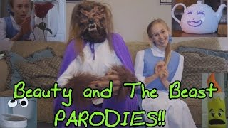 Beauty and the Beast PARODIES!!!