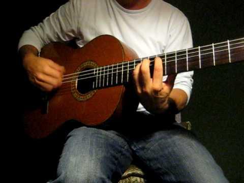Flamenco Guitar (Soleá) Compás Rasgueado E (2)