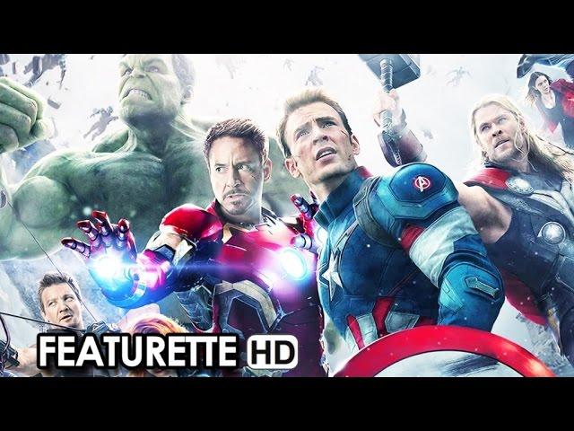 Avengers: Age of Ultron Featurette 'Avengers Riuniti' + Cinema News (2015) HD