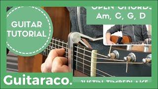 Download Lagu Say Something - Justin Timberlake & Chris Stapleton // EASY Guitar Lesson Tutorial (Open Chords) Gratis STAFABAND