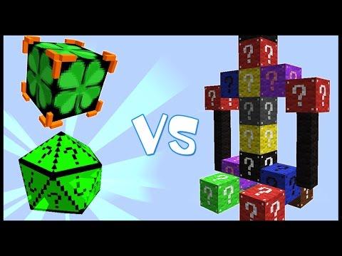 Клевер Удачи и ГиперКуб VS Лаки Монстр! - Лаки Битва #25