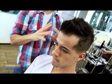 Confira novo corte de cabelo estilo moicano com Marcelo Brito. Music Videos