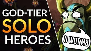 Best HEROES TO SOLO Lane and CARRY- Offlane Meta Tips | Dota 2 Guide