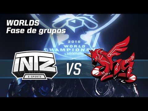 Intz E-Sports VS AHQ E-Sports Club - #worldsLVP6 - World Championship 2016 - Fase de grupos 6