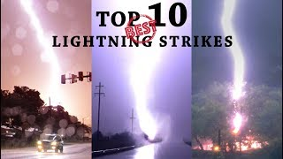 BEST LIGHTNING STRIKES - Top 10 Countdown